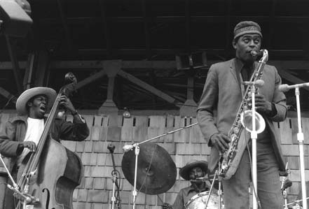 Archie Shepp with Jimmy Garrison & Beaver Harris