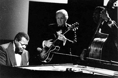 Oscar Peterson • Herb Ellis • Ray Brown Photograph William E. Smith