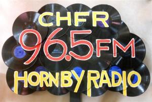CHFR-FM Sign