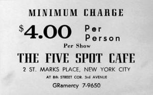 Five Spot Card